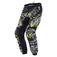 PANTALONES CROSS O'NEAL ELEMENT ATTACK NEGRO / AMARILLO