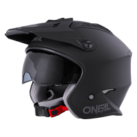 CASCO VOLT SOLID NEGRO MATE ONEAL