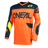 CAMISETA CROSS ONEAL ELEMENT NARANJA