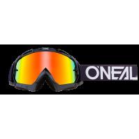 GAFAS MX ONEAL B-10 GOGGLE PIXEL BLACK/WHITE - RADIUM