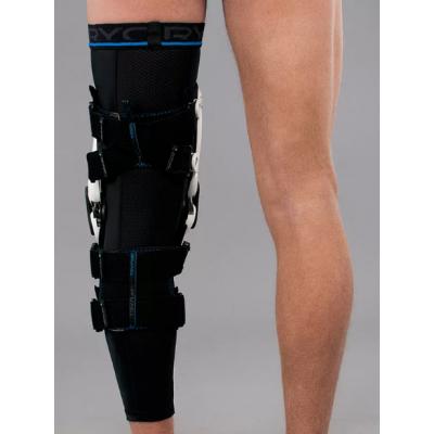 Rodillera Revit Tryonic Knee Brace T6 Blanca-Negra