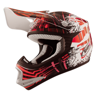 CASCO CRROS INFATIL SHIRO ROJO- MX-306 BRIGADE KID