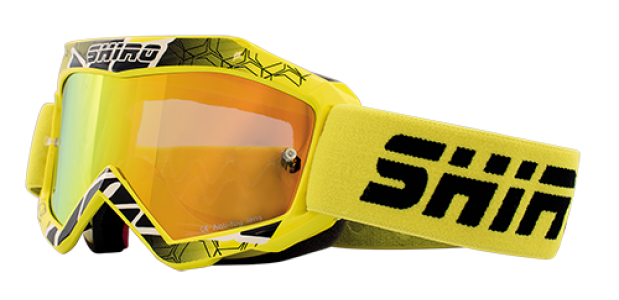 Gafas cross infantil Shiro amarillo- MX-904 KIDS