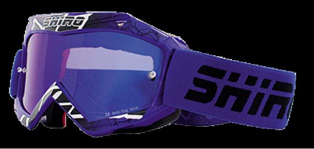 Gafas cross infantil Shiro azul- MX-904 KIDS