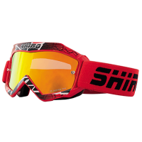 Gafas cross infantil Shiro rojo - MX-904 KIDS