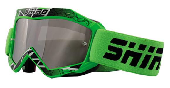 Gafas cross infantil Shiro verde - MX-904 KIDS