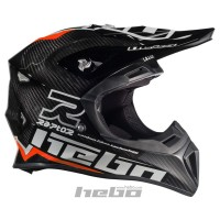 Casco enduro RAPTOR CARBON rojo