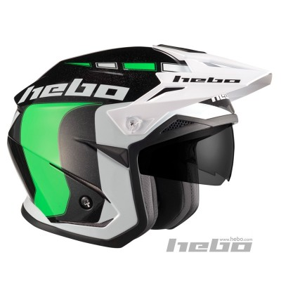 Casco YET  trial Zone 5 LIKE VERDE